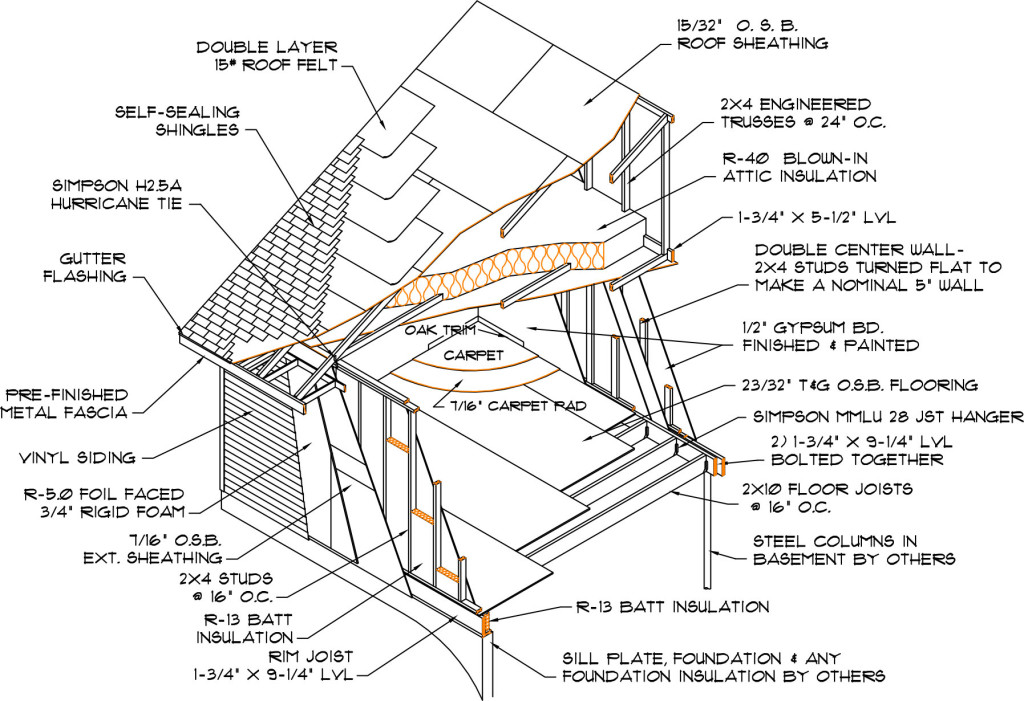 Construction Specifications Cut-Away